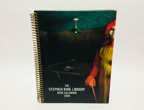 Stephen King Library 2008 Desk Calendar Spiralbound Hardcover