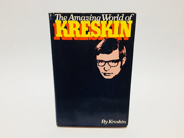 The Amazing World of Kreskin by Kreskin 1973 Hardcover