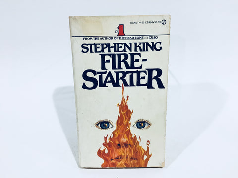 Firestarter by Stephen King 1981 First Edition Paperback