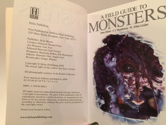 Monsters: A Field Guide to Bloodthirsty Beasts by Dave Elliott 2008 Softcover - LaCreeperie