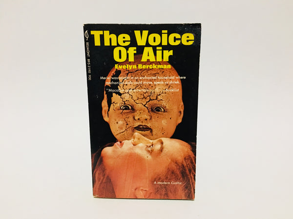The Voice of Air by Evelyn Berckman 1971 Paperback