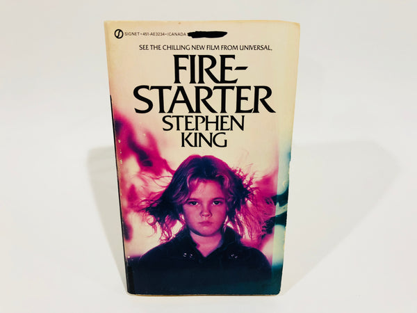 Firestarter by Stephen King 1984 Movie Tie-In Edition Paperback