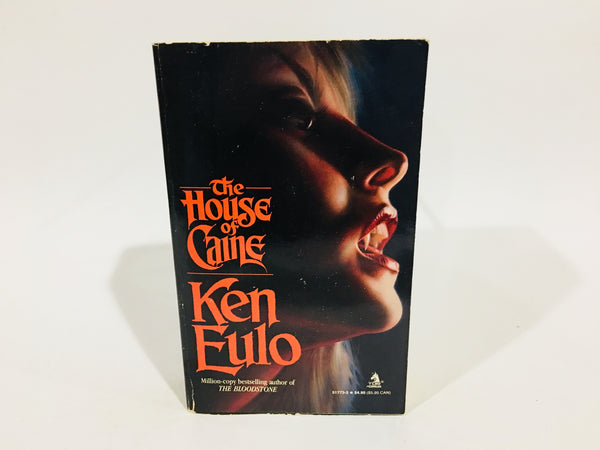 The House of Caine by Ken Eulo 1988 First Edition Paperback
