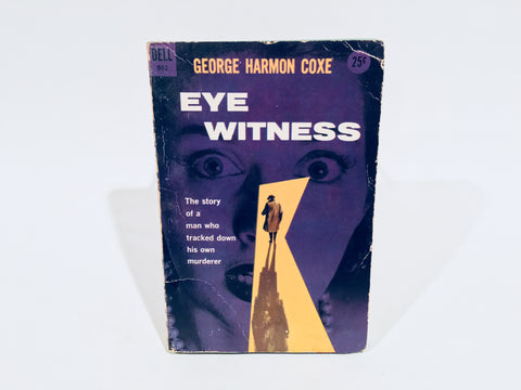 Eye Witness by George Harmon Coxe 1950 Paperback