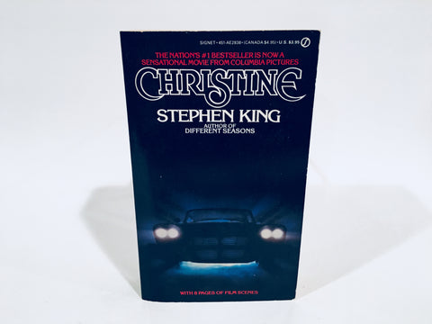 Christine by Stephen King 1983 Movie Tie-In Edition Paperback