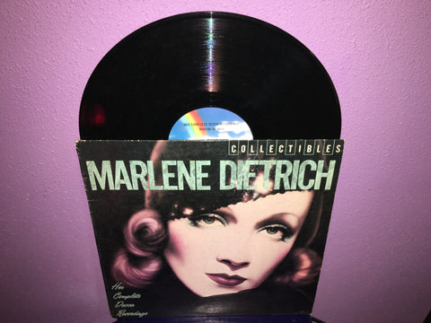 Marlene Dietrich - Her Complete Decca Recordings 1982 Vinyl LP German Chanteuse