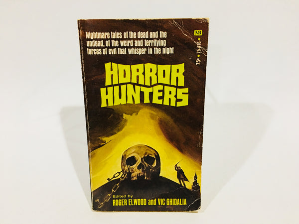 Horror Hunters 1971 Paperback Edition Anthology