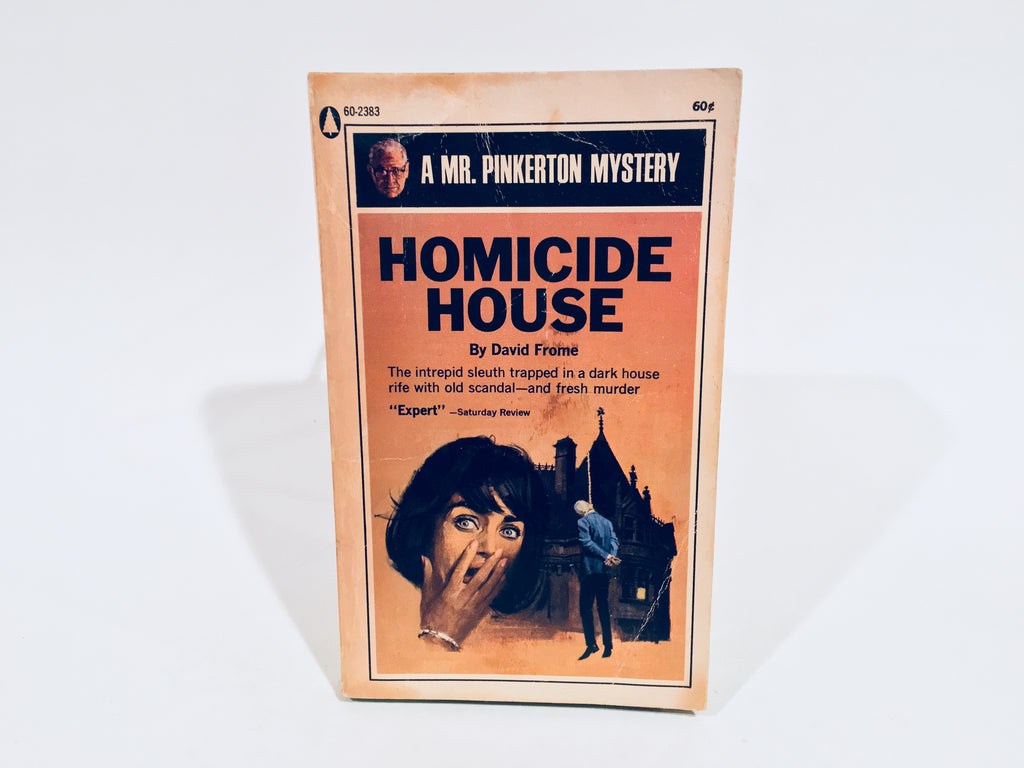 Homicide House by David Frome 1950 Paperback