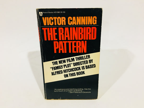 The Rainbird Pattern by Victor Canning Movie Tie-in Edition 1976 Paperback Family Plot