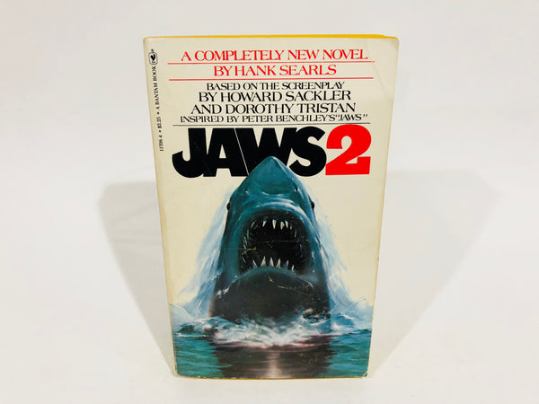 JAWS 2 Film Novelization 1978 Paperback