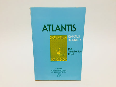 Atlantis by Ignatius Donnely 1971 Softcover