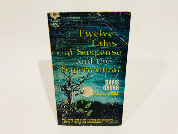 Twelve Tales of Suspense and the Supernatural 1964 Paperback Anthology