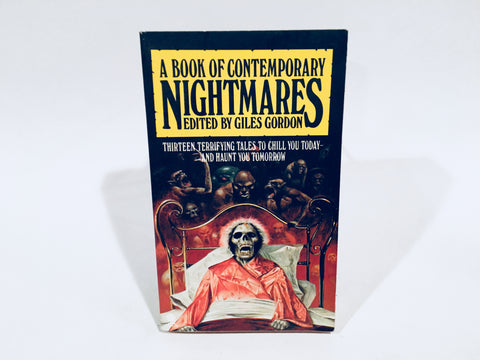 A Book of Contemporary Nightmares 1978 UK Edition Paperback Anthology