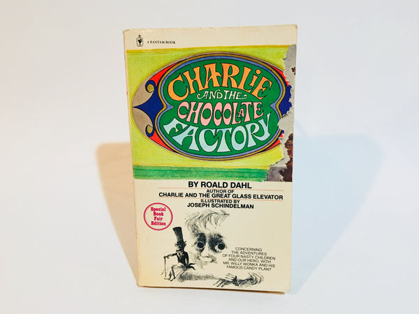 Charlie and the Chocolate Factory by Roald Dahl 1979 Paperback