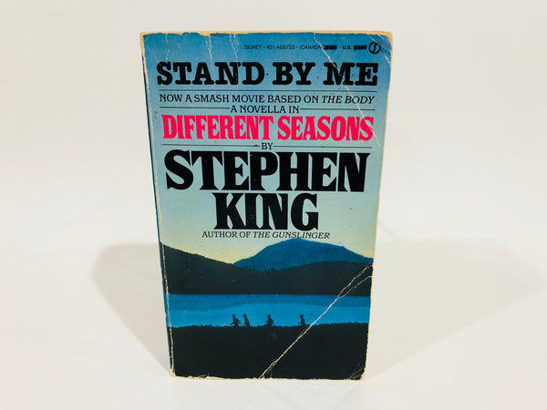 Different Seasons by Stephen King 1986 Movie Tie-In Edition Paperback Anthology