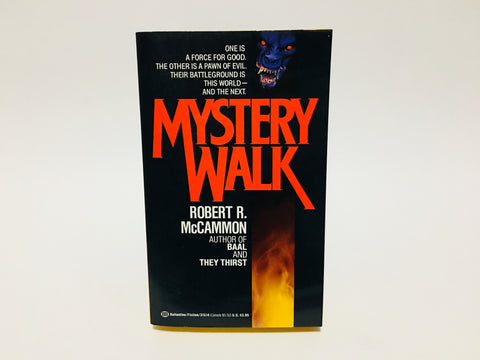 Mystery Walk by Robert McCammon 1988 Paperback