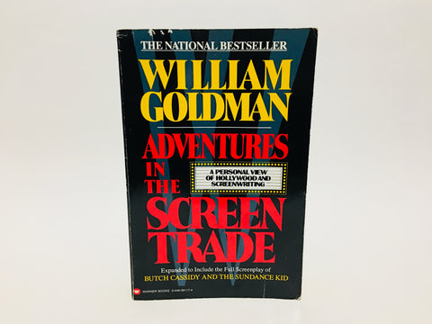Adventures in the Screen Trade by William Goldman 1998 Softcover