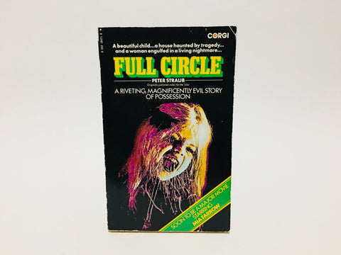 Full Circle AKA Julia by Peter Straub 1977 UK Movie Tie-In Edition Paperback