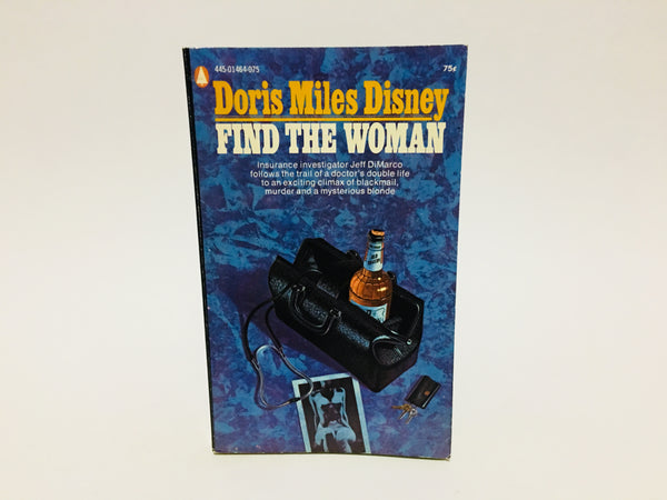 Find The Woman by Doris Miles Disney 1962 Paperback