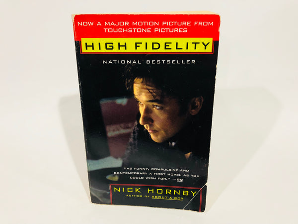 High Fidelity by Nick Hornby 2000 Movie Tie-In Edition Softcover