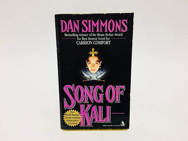 Song of Kali by Dan Simmons 1986 First Edition Paperback