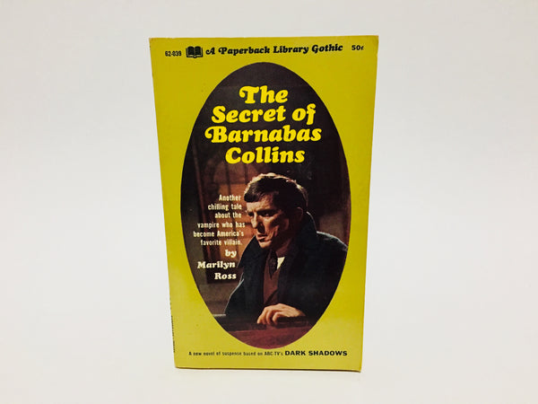 The Secret of Barnabas Collins by Marilyn Ross 1970 Paperback