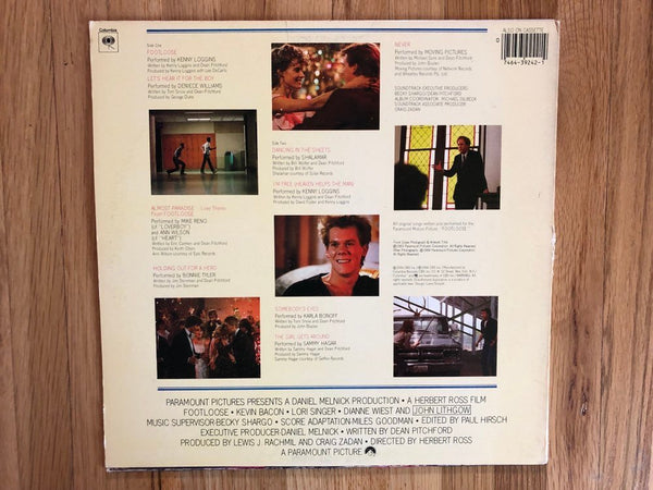 Footloose Original Soundtrack Vinyl Lp 1984 Classic Record Album