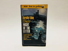 Night of the Letter by Dorothy Eden 1960s Paperback