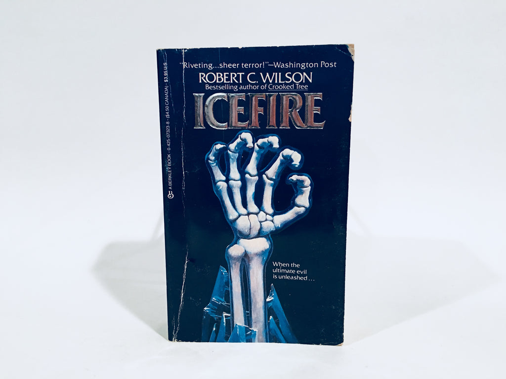 Icefire by Robert C. Wilson 1984 Paperback