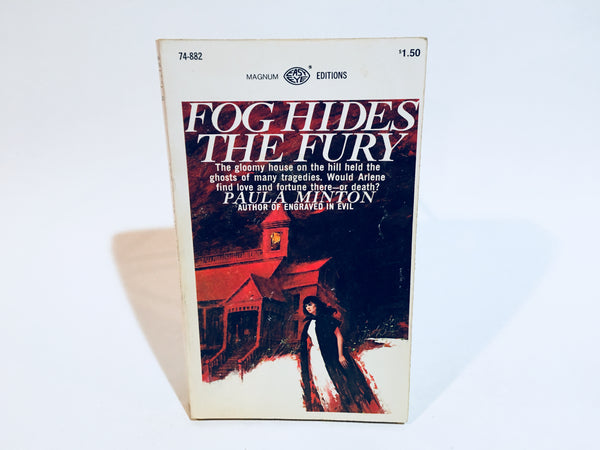 Fog Hides The Fury by Paula Minton 1967 Paperback