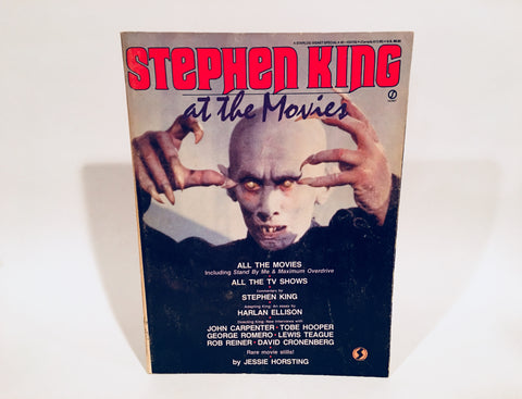 Stephen King at the Movies 1986 Magazine