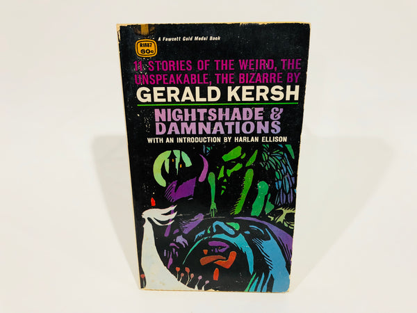 Nightshade & Damnations by Gerald Kersh 1968 Paperback Anthology