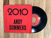 "Theme from 2010 - Andy Summers 7"" Vinyl 45 1984"