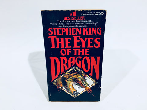 Eyes of the Dragon by Stephen King 1988 First Edition Paperback
