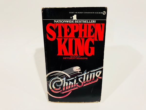 Christine by Stephen King 1983 1st Edition Paperback