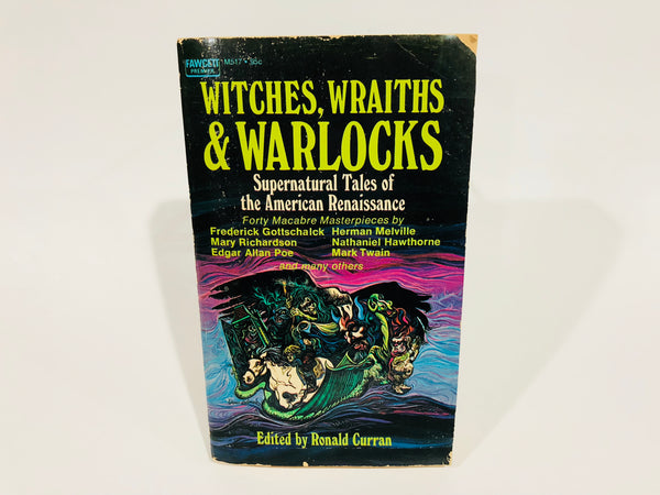 Witches, Wraiths and Warlocks 1971 Paperback Anthology