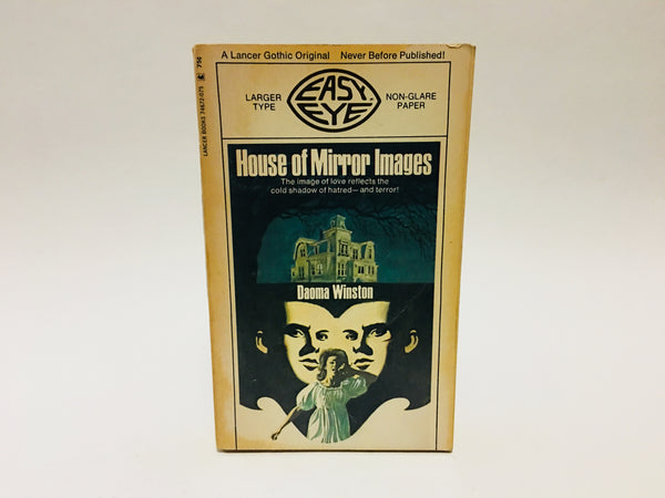 House of Mirror Images by Daoma Winston 1970 Paperback