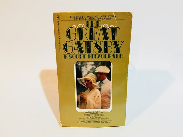 The Great Gatsby by F. Scott Fitzgerald 1974 Movie Tie-In Edition Softcover