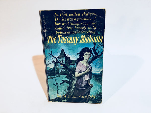 The Tuscany Madonna by Miriam Canfield 1965 Paperback