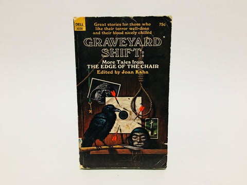 Graveyard Shift: More Tales from the Edge of the Chair 1970 Paperback Anthology