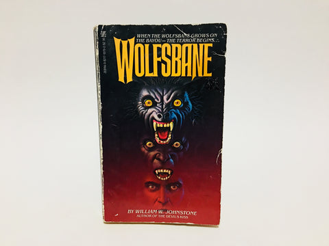 Wolfsbane by William W. Johnstone 1982 Paperback