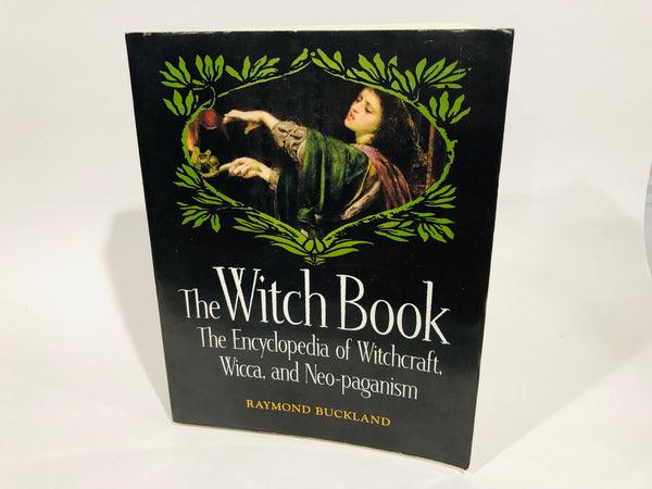 The Witch Book by Raymond Buckland 2002 Softcover