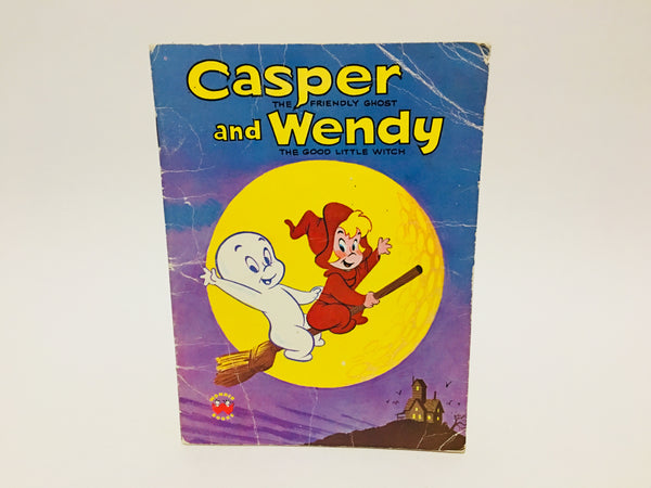 Casper and Wendy 1987 Softcover