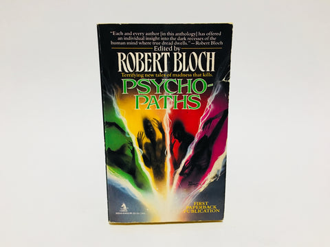 Psycho-Paths by Robert Bloch 1993 Paperback Anthology