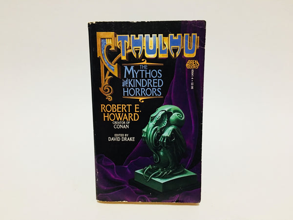 Cthulhu - The Mythos and Kindred Horrors 1987 Paperback Anthology