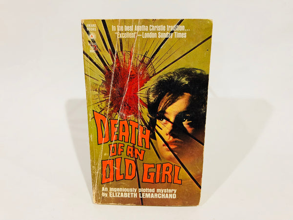 Death of an Old Girl by Elizabeth Lemarchand 1970 Paperback