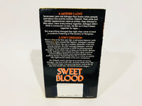 Sweet Blood by Pat Graverson 1992 First Edition Paperback