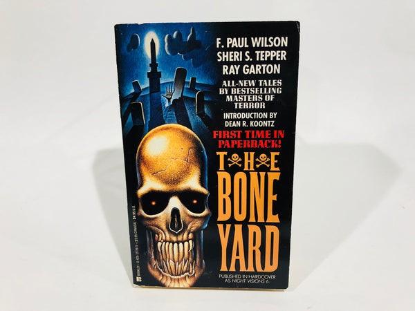 Night Visions 6: The Bone Yard 1991 Paperback Anthology