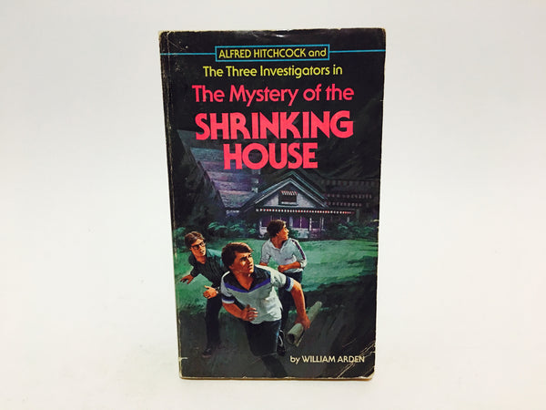 Alfred Hitchcock: The Mystery of the Shrinking House 1972 Paperback - LaCreeperie