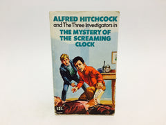 Alfred Hitchcock: The Mystery of the Screaming Clock 1971 UK Edition Paperback - LaCreeperie